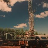 old well drilling rig photo